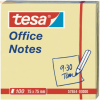 Tesa Haftnotizen tesa Office Notes 75x75mm 100 Blatt gelb