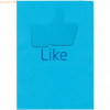 Elco Organisationsmappe Ordo school Like Papier A4 220x310 mm blau VE=