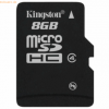 Kingston Technology Kingston microSDHC Card Class 4 ohne Adapter, 8GB