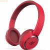 ZAGG iFrogz Audio Coda Wireless Headphone mit Mikrofon, Rot
