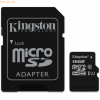 Kingston Technology Kingston microSDHC Class 10 UHS-I Card + SD Adapte