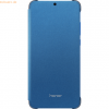 Honor Honor 8X - PU Flip Protective Cover, Sapphire Blue