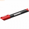 Kores Permanentmarker XP1 3mm Rundspitze rot