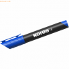 Kores Permanentmarker XP1 3mm Rundspitze blau