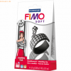 Staedtler Modelliermasse Fimo soft DIY Jewellery Pack Black & White 4x