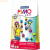 Staedtler Modelliermasse Fimo soft DIY Jewellery Pack Cubes 4x 25g