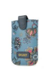 Oilily Sea of Flowers Smartphone Pull Case Deep Ocean Handyhüllen