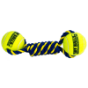 Petsport Knotted Twisted Chews w/ 2 Tuff Ball (6cm)