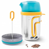 BioLite - Coffee Press - Kaffeepresse turquoise /orange