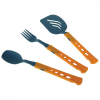 Jetboil - Jet Set Utensil Kit - Besteckset grau/orange