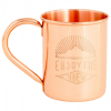 United By Blue - Enjoy The View Copper Mug - Becher Gr 414 ml copper