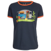 Elkline - Kid´s Heimelig - T-Shirt Gr 116/122;128/134;140/146;152/158;164/170 schwarz;orange