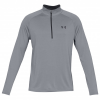 Under Armour - UA Tech 1/2 Zip - Funktionsshirt Gr M - Regular grau