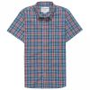Backcountry - Featherweight Plaid Short-Sleeve Shirt - T-Shirt Gr M;S grau/blau;grau