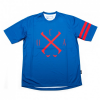 Local - S/S Jersey Icon - Radtrikot Gr M blau