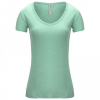 Backcountry - Women´s Fresh Air V-Neck T-Shirt - T-Shirt Gr S - Regular grün/türkis