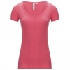 Backcountry - Women´s Fresh Air V-Neck T-Shirt - T-Shirt Gr M - Regular rosa