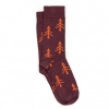 Bleed - Tree Socken - Multifunktionssocken Gr 41-46 lila/rot