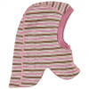CeLaVi - Kid´s Balaclava Double Layer Wonder Wollies - Sturmhaube Gr 60 grau/rosa/braun