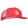 Mons Royale - The ACL Trucker Cap Surf - Cap Gr One Size rot/rosa