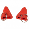 Grivel - Rubber Point Protector Gr 2 Pieces rot