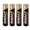 4 ANSMANN Batterien X-POWER Micro AAA 1,5 V