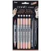 COPIC® Ciao 5+1 Layoutmarker farbsortiert variable Strichstärke