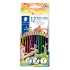 12 STAEDTLER Noris® colour 185 Buntstifte farbsortiert