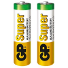 2 GP Batterien SUPER Mignon AA 1,5 V