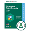 Kaspersky Total Security Multi-Device 3 Geräte Update ESD 2 Jahre D-A-CH Lizenz 2017
