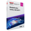 Bitdefender Total Security 2019 WIN MAC Android IOs 1 Gerät Vollversion EFS PKC 18 Monate Limited Edition