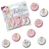 Ballerina Mini Buttons, 8 Stk