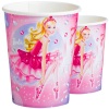 Barbie Pink Shoes Partybecher, wunderschönes Design, 8er Pack, 266ml