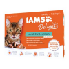 IAMS Delights Adult 12x85g Land Collection in Sauce