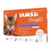 IAMS Delights Adult 12x85g Land&Sea Collection in Sauce