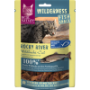 REAL NATURE WILDERNESS Fish-Snack 35g Rocky River (Wildlachs-Cut)