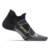 feetures! Elite UL No Show Tab Laufsocken black Gr. XL (47-51)