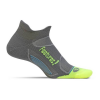 feetures! Elite LC No Show Tab Laufsocken graphite Gr. XL (47-51)