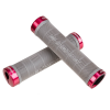 Chromag MTB-Griffe Palmskin Lock-On Grau/Rot