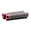 Chromag MTB-Griffe Squarewave XL Lock-On Grau/Rot