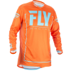Fly Racing Jersey Lite Hydrogen Orange/Blau