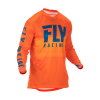 Fly Racing Jersey Lite Hydrogen Orange/Navy