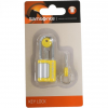 Samsonite Luggage Accessories - Key Lock 2 / Schlüssel-Schloss yellow