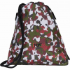 iKON Cinch Bag Turnbeutel 42 cm - red camouflage