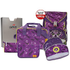 DerDieDas Ergoflex Switch Purple Schulranzen Set 5tlg