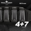 BunkerKing Strapless 4+7 Paintball Battlepack V5 (WKS Black)