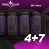 BunkerKing Strapless 4+7 Paintball Battlepack V5 (WKS Purple)