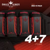 BunkerKing Strapless 4+7 Paintball Battlepack V5 (WKS Red)