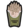 Paintball / Airsoft PVC Klettpatch (Freedom Fries)