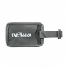 Tatonka Travel Name Tag - Namenschild für Reisegepäck - titan grey